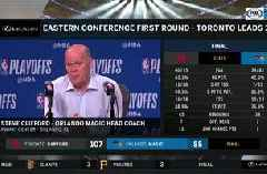 Steve Clifford on Magic-Raptors series: 'We don't have a lot of room for error'