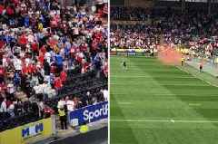 Hull KR and FC fans unite in condemning 'idiot' supporters causing trouble at derby game