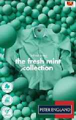 Peter England's Newest 'Fresh Mints' Campaign Goes Live