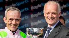 Irish Grand National: Burrows Saint wins as trainer Willie Mullins breaks duck