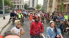 Extinction Rebellion: Cardiff climate change protest disrupts traffic