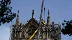 Notre-Dame fire: Rain threatens France's damaged cathedral