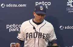 Hear from Andy Green on the win & gem by Chris Paddack
