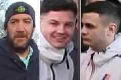 Police issue snaps of 11 Swansea City and Bristol City fans after football violence