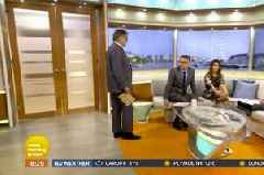 Baffling moment Richard Bacon interrupted by Good Morning Britain editor live on air