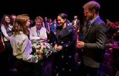 Royals come together to launch mental health text messaging service