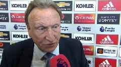 Manchester United 0-2 Cardiff City: Neil Warnock 'proud' to win final Premier League game