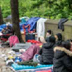 BTS ARMY Fans Have Been Camping Out Near Central Park Since Last Week To See K-Pop Sensation