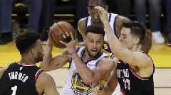 Golden State Warriors 116-94 Portland Trail Blazers: Stephen Curry inspires game-one win