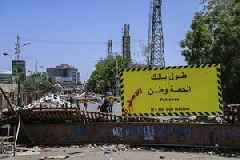 Eight wounded from gunshots near Sudan sit-in: protest spokesman