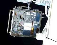 The Axiom Space tests key space station acrylic sample on ISS in Alpha Space's MISSE facility