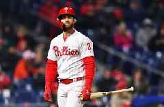 What's the biggest concerns surrounding Bryce Harper's struggles?