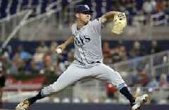 7 Rays pitchers combine to hand Miami 7th straight loss, 1-0