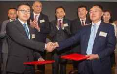 Kaisun Holdings and China Railway Engineering Construction Mongolia signed agreement for construction on Mongolia Choir Railway Platform, opening up logistics along China, Mongolia and Russia
