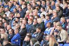 Birmingham City's average attendance and how it compared to Aston Villa, Leeds United and West Brom