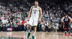 Brook Lopez's Playoff Career-High 29 Points Boost Bucks Past Raptors