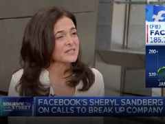 Sheryl Sandberg revealed the new scare-tactic Facebook is using to stop regulators from breaking up Facebook (FB)