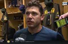 Ian Kinsler talks about his clutch home run following the victory