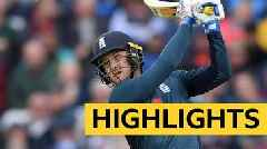 England v Pakistan: Jason Roy hits brilliant century in series-clinching win - highlights