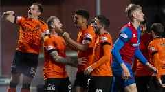 Dundee Utd ease past Inverness to reach Premiership play-off final