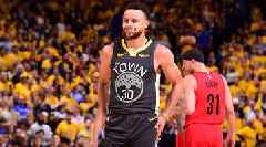 Steph Fends Off Seth as Warriors Top Blazers in Game 2