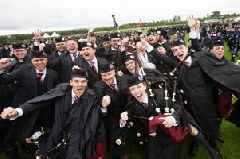 British Pipe Band Championships in Paisley won by St Laurence O'Toole