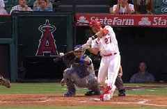 Mike Trout hits 250th home run of his career