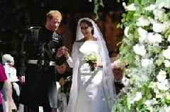 New wedding pictures mark Prince Harry and Meghan Markle's first wedding anniversary