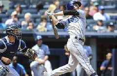 Rays blast 3 HRs but fall apart in 6th, relinquish 1st place in AL East to Yankees