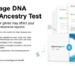 MyHeritage Expands to Health; Launches New DNA Test Offering Powerful and Personalized Health Insights for Consumers