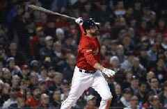 Red Sox slugger Martinez sits because of sore back