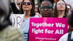 In pictures: Protests across US against abortion bans