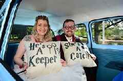 Ria and Matthew's Harry Potter themed wedding