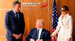 Trump puts foot in his mouth over Irish border during first official visit