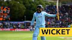 Cricket World Cup: Roy departs for 153 as a hat-trick of huge sixes