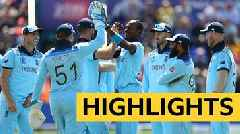 Cricket World Cup: England easily beat Bangladesh in Cardiff – highlights
