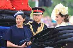 Meghan Markle makes first public appearance at Trooping The Colour since giving birth to Archie