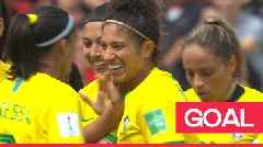 Women's World Cup 2019: Cristiane scores an 'excellent header' to give Brazil the lead against Jamaica