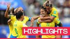 Women's World Cup 2019: Cristiane scores hat-trick as Brazil beat Jamaica 3-0 in Grenoble