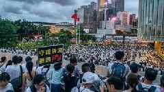 Massive Protest In Hong Kong Over Extradition Legislation