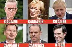 Tory leadership drugs scandal hits new low as SIXTH candidate for PM admits breaking law