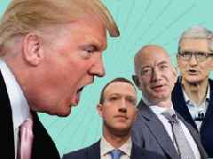 Trump drops the biggest hint yet that he's coming after the big tech 'monopoly' with potential billion-dollar fines