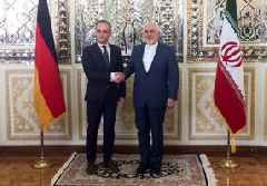 Iran welcomes German FM to pressure Europe on Iran deal