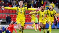 Chile 0-2 Sweden: Europeans score two late goals in Women's World Cup match