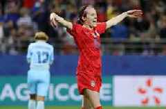 Rose Lavelle's second goal gives the U.S. a commanding 7-0 lead