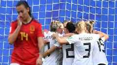 Women's World Cup: Germany make it two wins out of two with victory over Spain