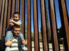 """We Build the Wall"" border gate ordered locked open by international group"