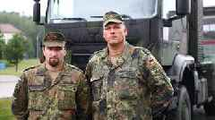 German soldiers hailed for blocking runaway truck on autobahn