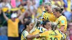 Australia 3-2 Brazil: Matildas fight back from 2-0 down to claim first win