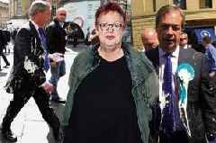 Jo Brand battery acid milkshake joke probed by police over incitement to violence claim